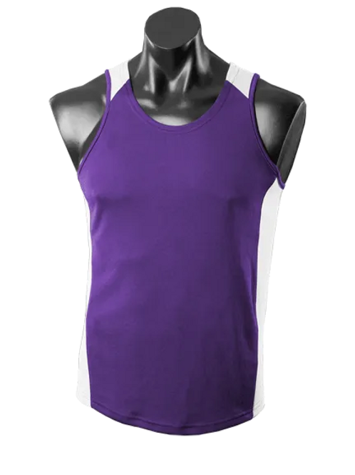 Aussie Pacific - Mens Premier Singlet (Light)