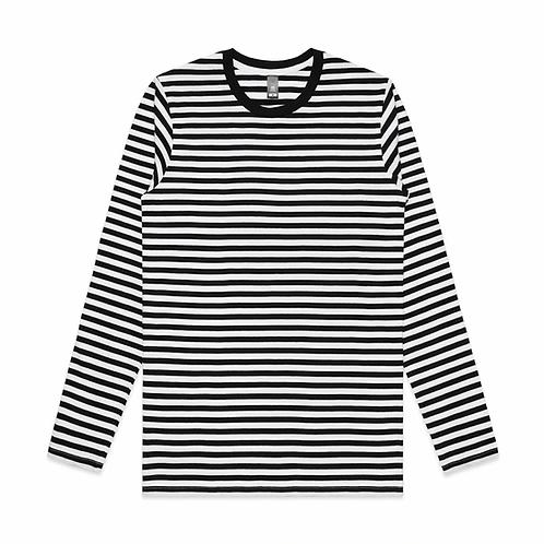 AS Colour - Mens Match Stripe L/S Tee