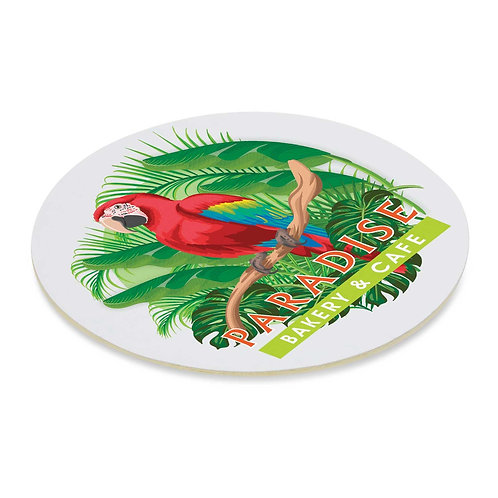 113193 Cardboard Drink Coaster - Round