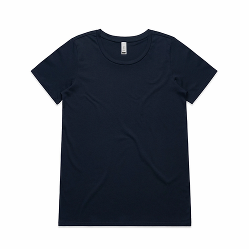 AS Colour - Womens Shallow Scoop Tee