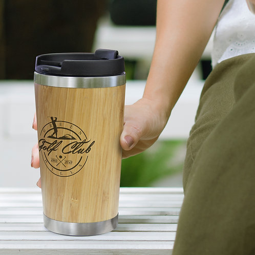200297 Bamboo Double Wall Cup