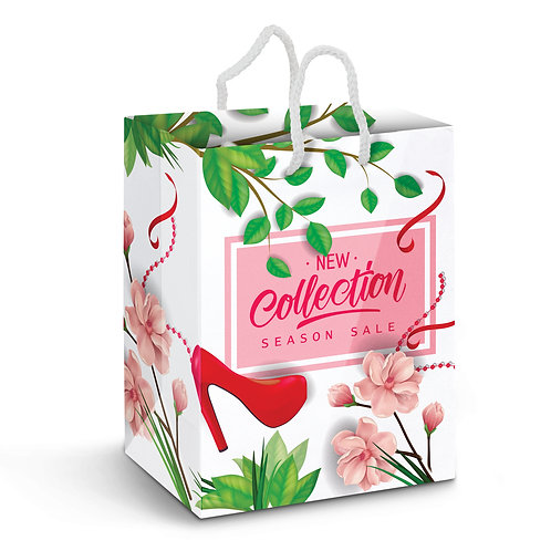 116941 Large Laminated Paper Carry Bag - Full Colour