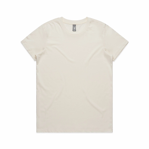 AS Colour - Womens Maple Tee (Light)