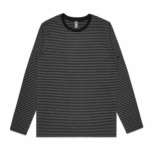 AS Colour - Mens Bowery Stripe L/S Tee