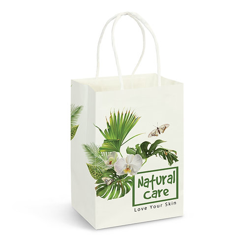 116933 Small Paper Carry Bag - Full Colour