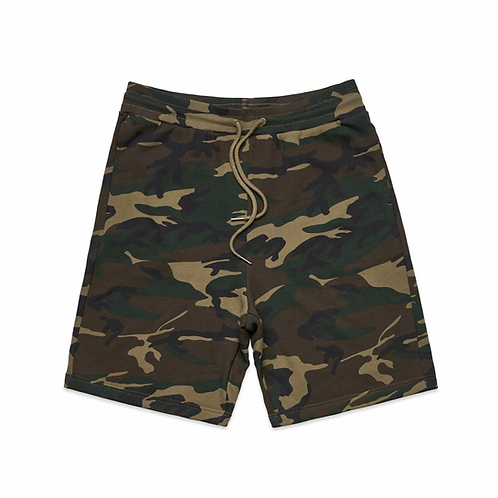 AS Colour - Mens Stadium Camo Shorts