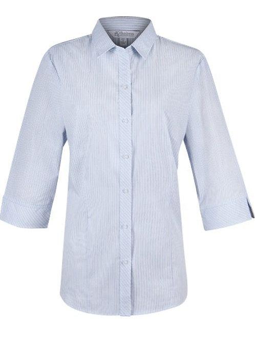 Aussie Pacific - Ladies Bayview Shirt 3/4 Sleeve