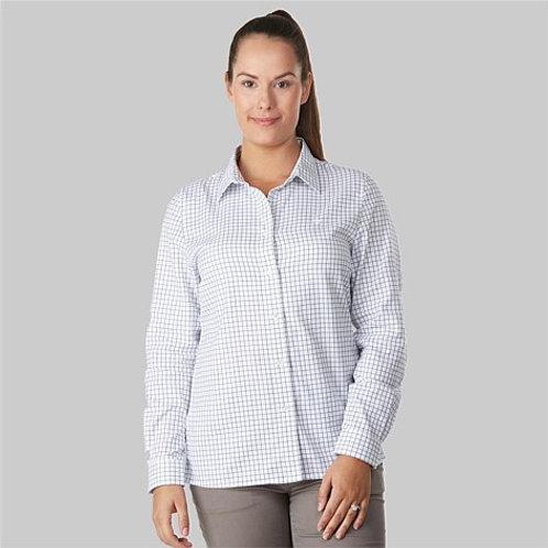 Swanndri Womens Rosedale Long Sleeve Checked Shirt