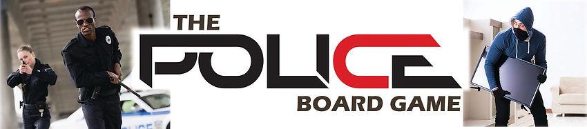 The Police Board Game Box top logo
