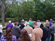 Sunrise Service, April 21