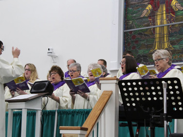 Easter Cantata, April 14