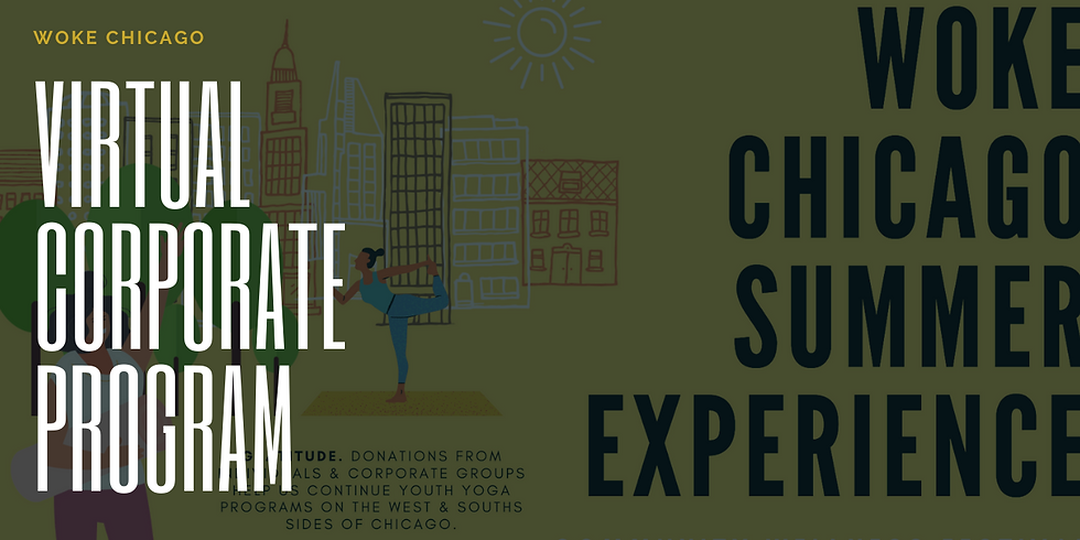 Summer Experience | WOKE Chicago Team Wellness Challenge