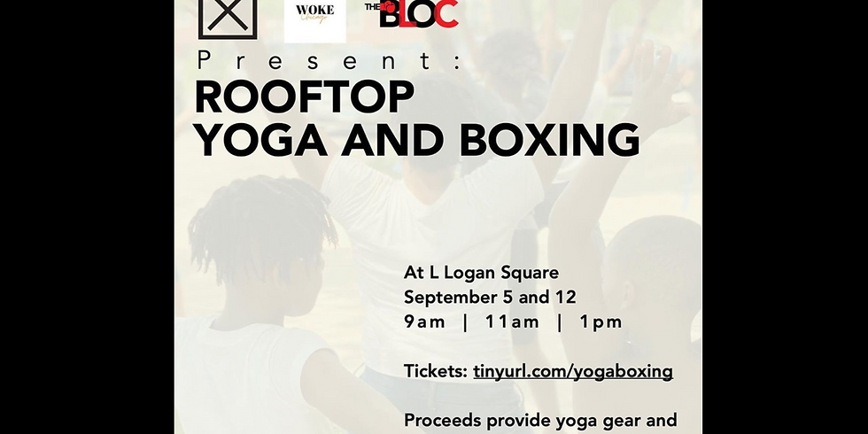 Boxing + Yoga = a FUNdraising fitness event on the rooftop!