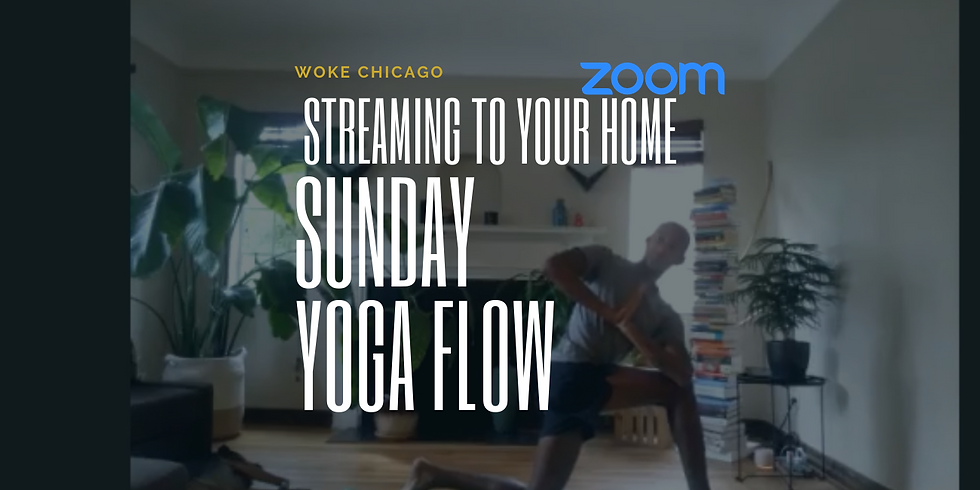 Virtual WOKE YOGA SUNDAY'S are FREE in June | Zoom live from your home