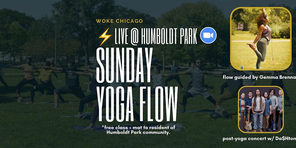 Humboldt Park Boathouse   ZOOM • WOKE Yoga Sunday w/ Gemma & Da$htone