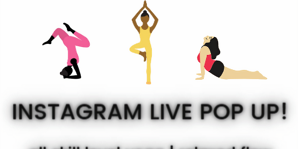 WOKE Yoga IG LIVE Pop-up!