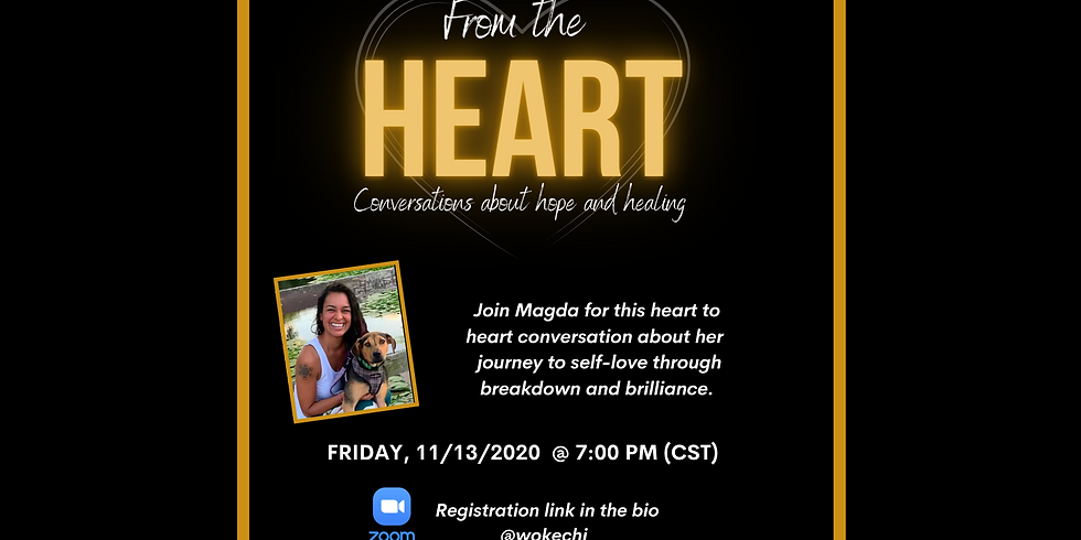 From the Heart | FREE EVENT | Led by Magda Saez