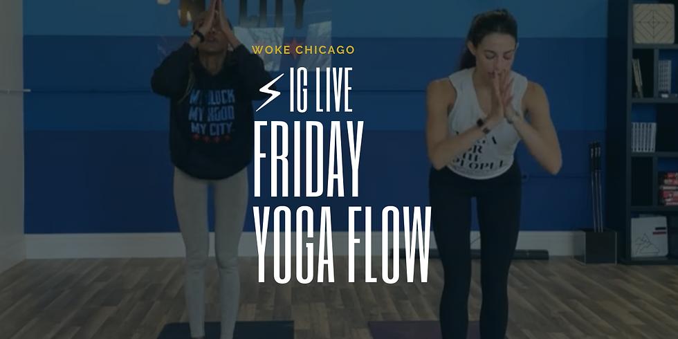 WOKE Yoga IG LIVE! Instructed by Anna!
