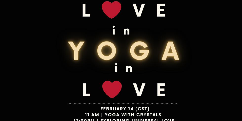 Universal Love x Woke Chi : Yoga in Love Workshopat 12:30pm CT