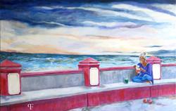 Nachmittag am Meer