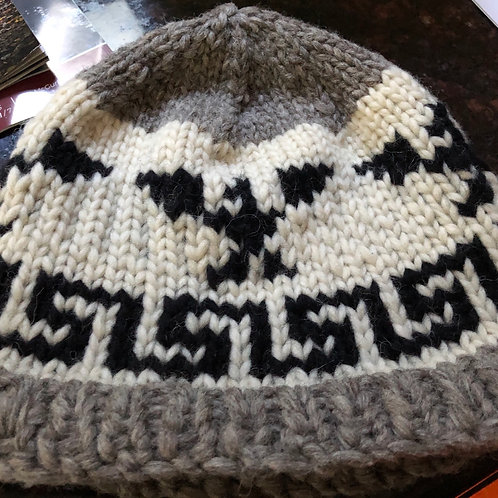 Salish style hat