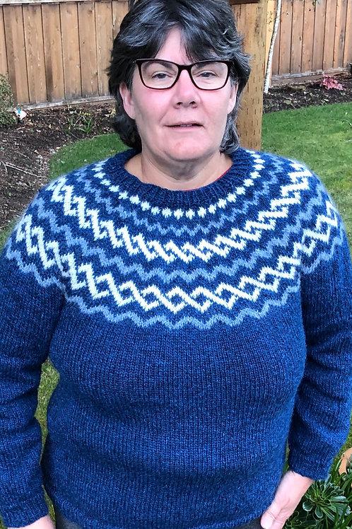 Lopapeysa Icelandic sweater
