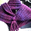 Thumbnail: Cowl scarves with I-cord closure