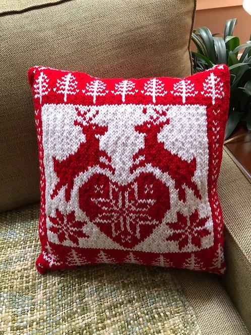 """Christmas Nordic pillow - 18""""x18"""""""