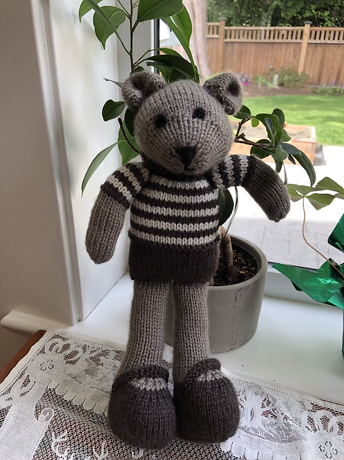 Brownly bear in stripes