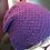 Thumbnail: Slouchy beanie moss stitch
