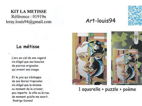 COMBIN'ART présente le KIT AQUAPUZ : La métisse