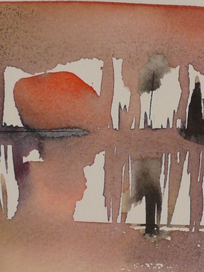 soleil couchant aquarelle 20x34.JPG