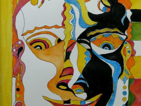 COMBIN'ART    présente le KIT       AQUAPUZ : La  Métisse ELEONORE