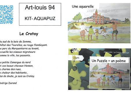 COMBIN'ART présente le KIT AQUAPUZ : Le Crotoy