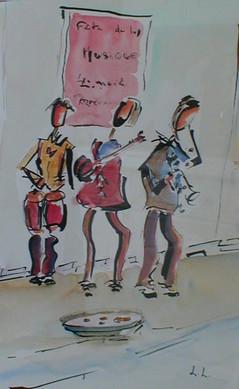 les_musiciens_de_la_rue_aquarelle_20x34_