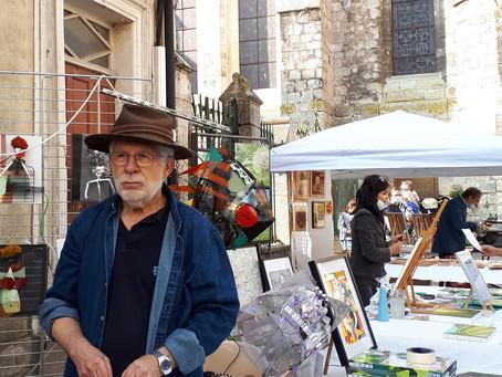 """Peintres dans la rue"" Brie Comte Robert"
