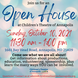 Open House (October 10 @ 11:30 a.m.)