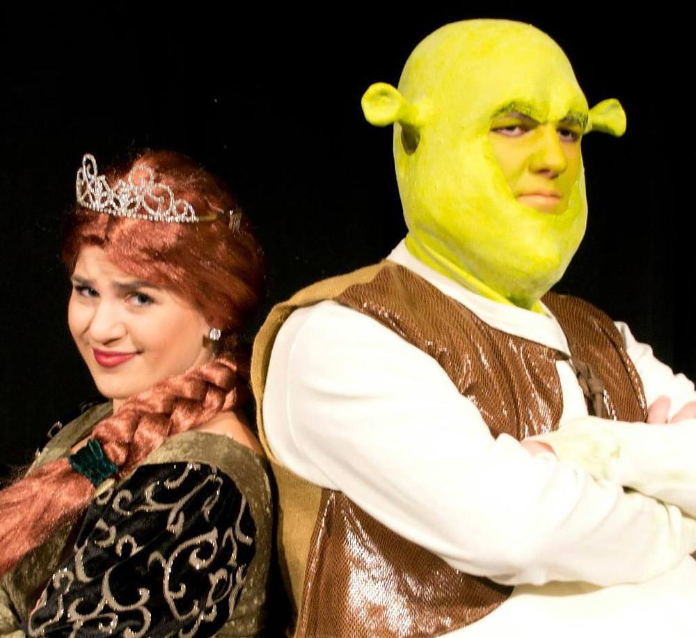 """Ezra Freeman as Princess Fiona in """"Shrek the Musical"""" at CTA in 2013."""