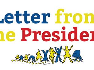 September 2019: Letter from the President