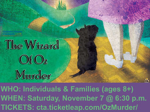 Nov. 7: Virtual Murder Mystery (for ages 8+)