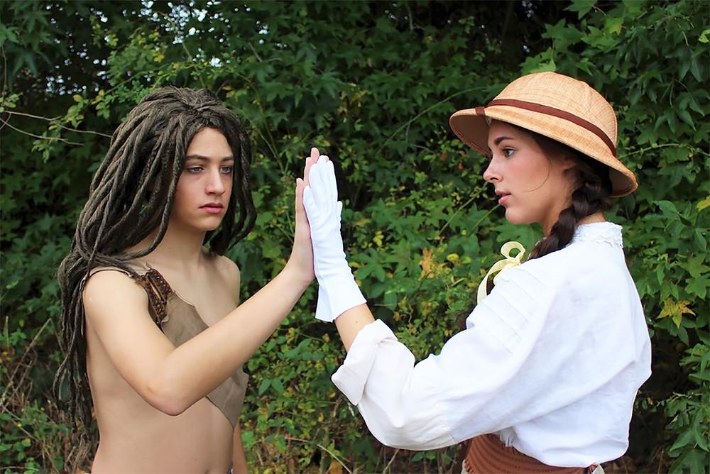 Tarzan and Jane Porter