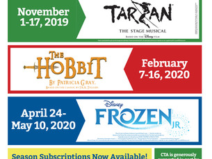 CTA Announces Its 2019-2020 Season