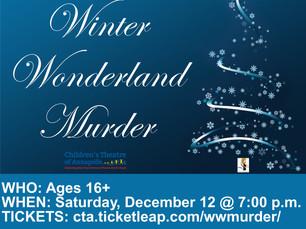 Dec. 12: Virtual Murder Mystery (ages 16+)
