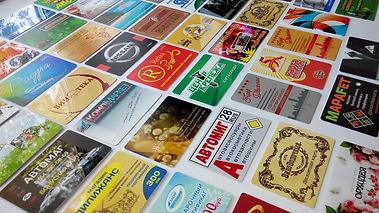 Примеры пластиковых карт