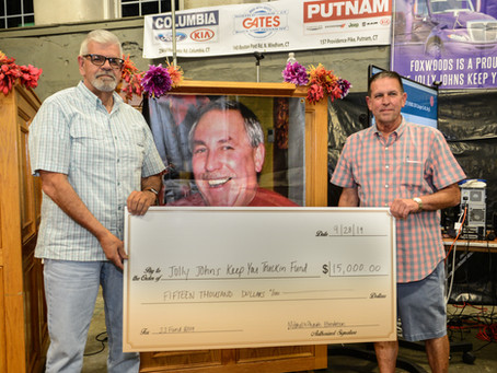 Mitchell D Phaiah Foundation donates $15,000.00!