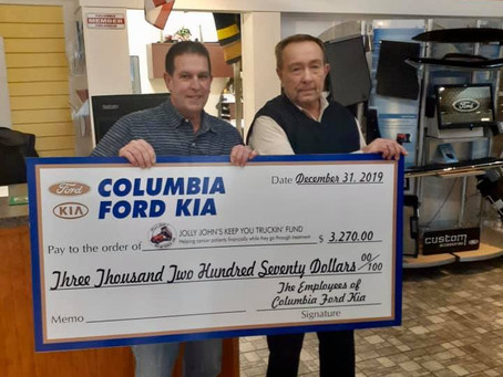 Gates Auto Group Employees Donate $8,070!