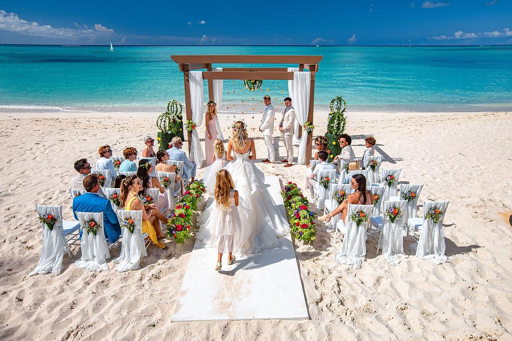 Turks and Caicos Beach Destination Wedding
