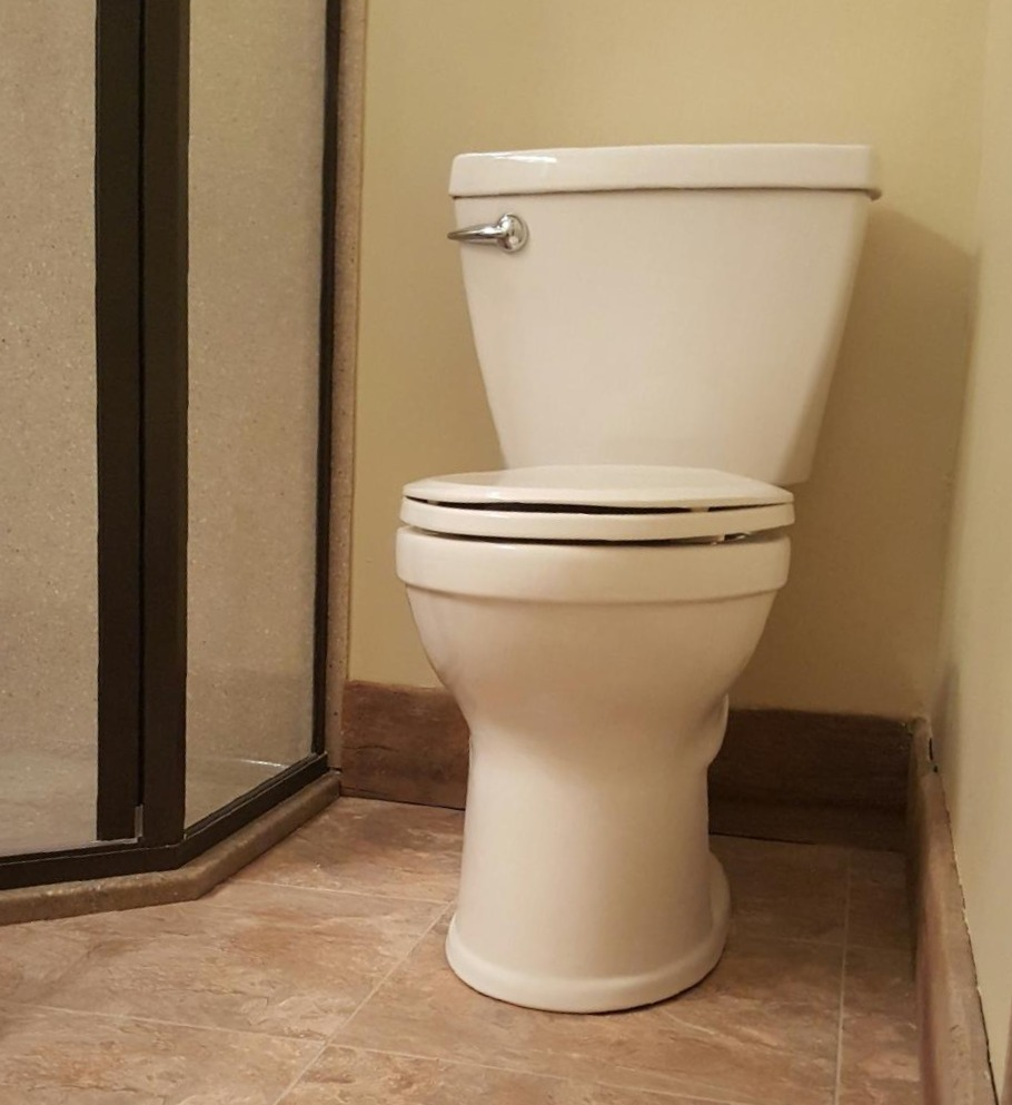 Bathroom Remodel | Toilet progress