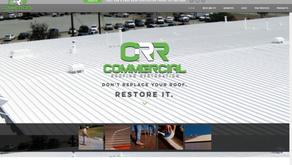 Commercial Roofing Restoration Website
