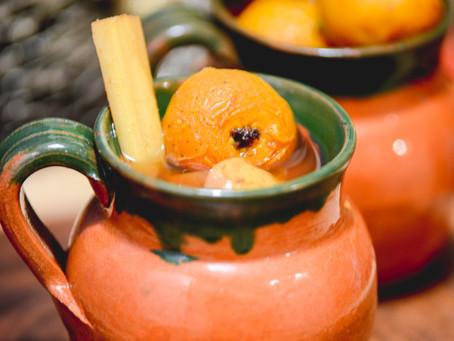 Ponche de frutas | Posadas and Christmas in Mexico City